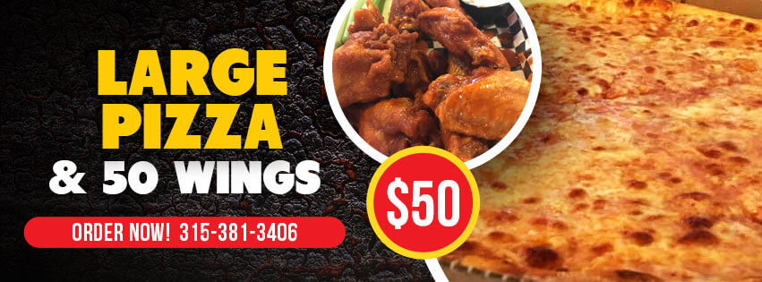 pizza & wings specials